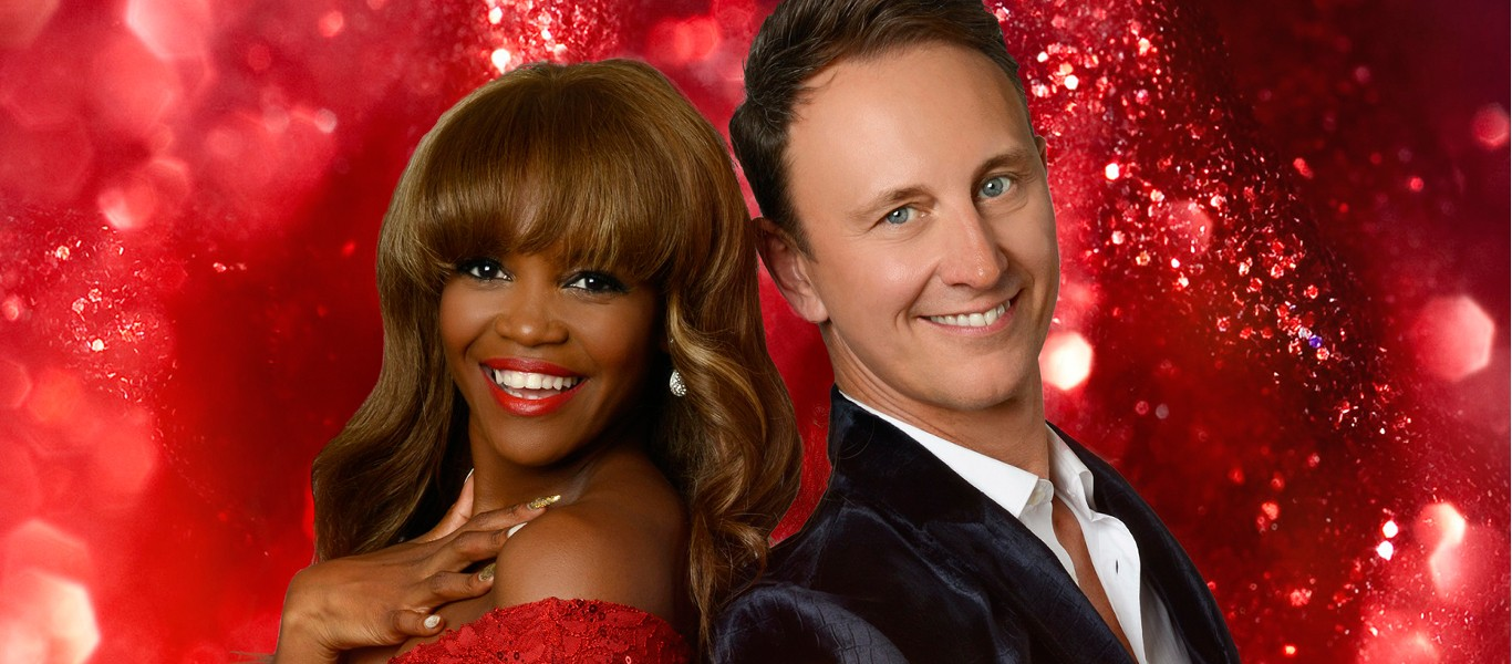 Ian Waite and Oti Mabuse Image