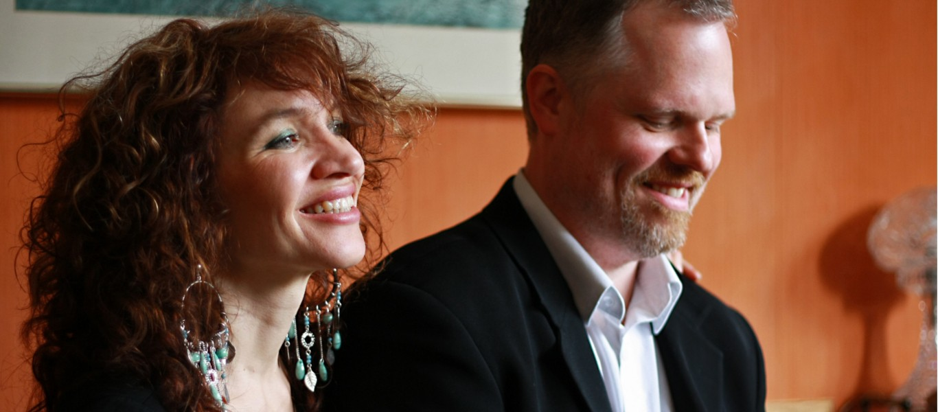 Jacqui Dankworth and Charlie Wood Image