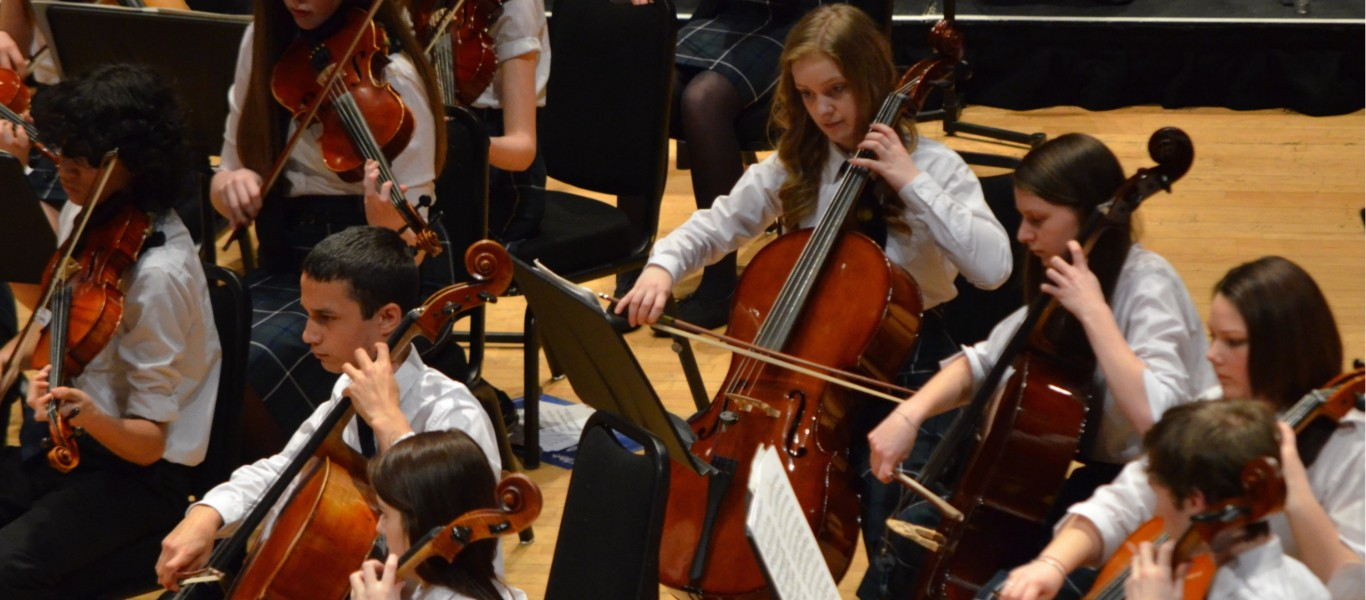 Perth & Kinross Summer Music Camp Concert Image