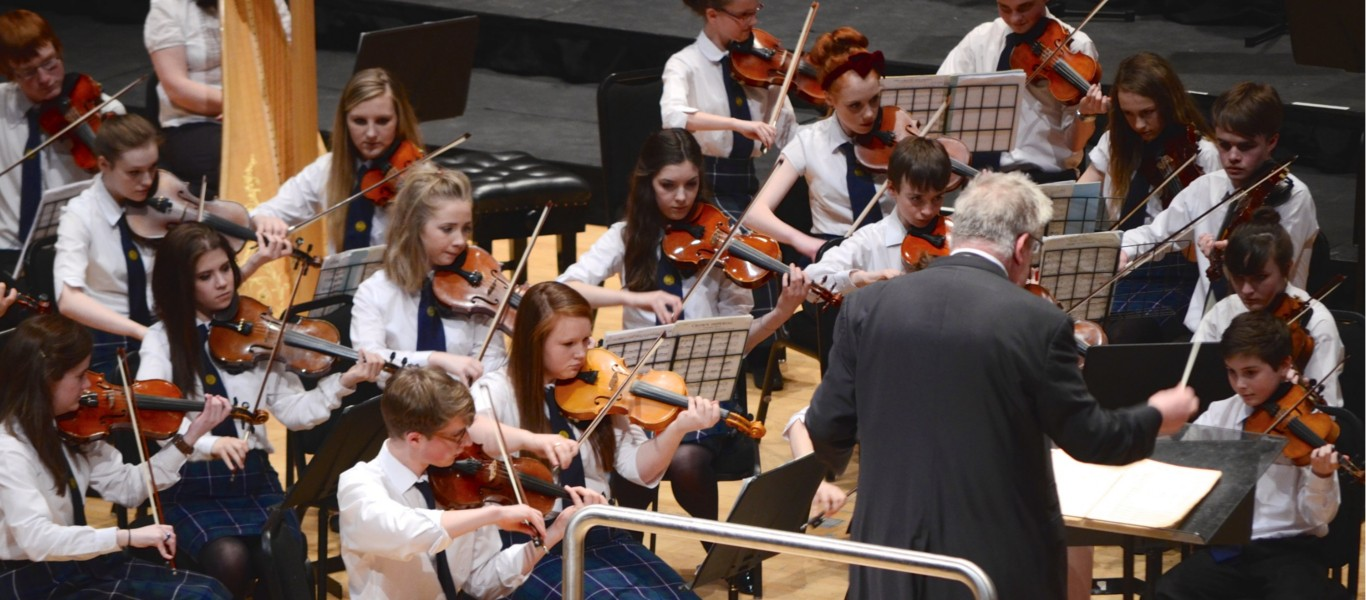 Perth Youth Orchestra Spring 2018 Image