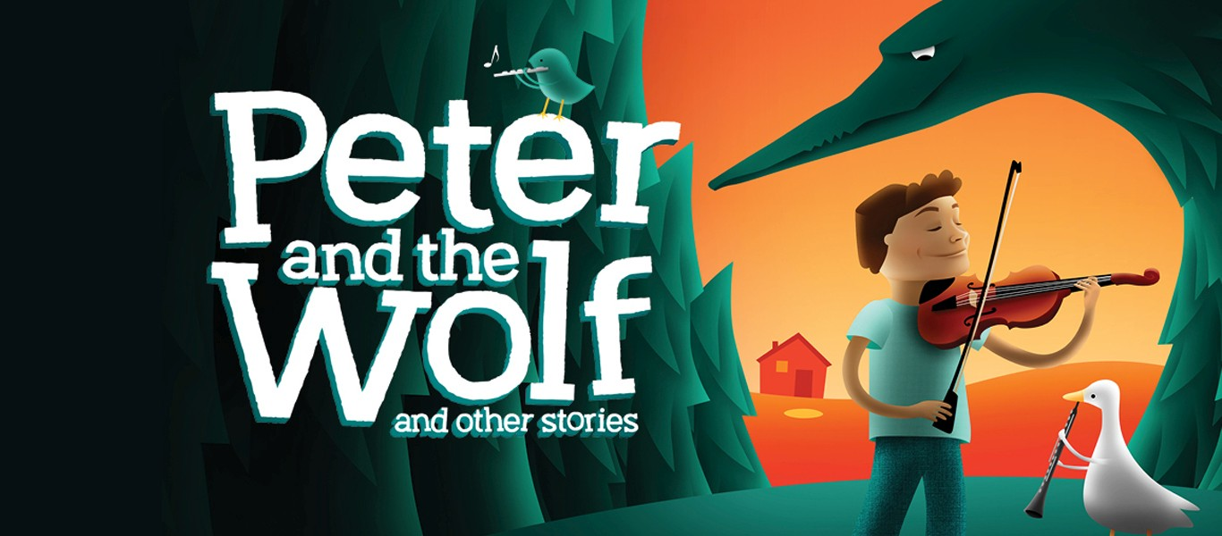 Children's Classic Concerts - Peter and the Wolf Image