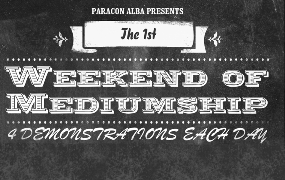 Weekend of Mediumship - Saturday Image