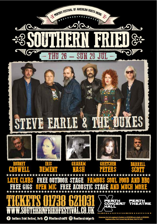 Front cover of Southern Fried 2018 Brochure (click to download)