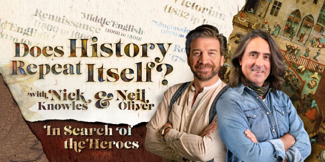 Nick Knowles & Neil Oliver: Does History Repeat Itself? Image